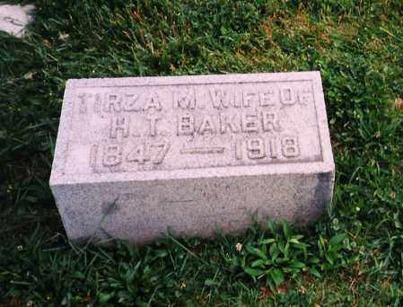 BAKER, TIRZA MARIAH - Licking County, Ohio | TIRZA MARIAH BAKER - Ohio Gravestone Photos