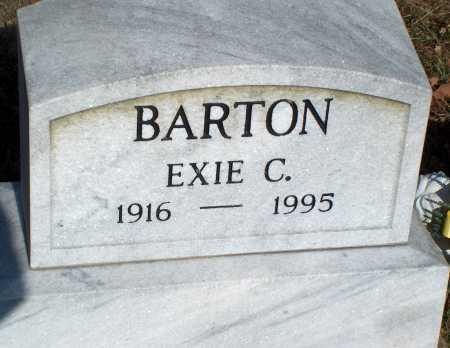 BARTON, EXIE C. - Licking County, Ohio | EXIE C. BARTON - Ohio Gravestone Photos