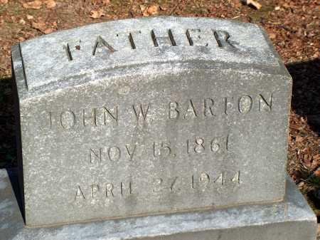 BARTON, JOHN W. - Licking County, Ohio   JOHN W. BARTON - Ohio Gravestone Photos