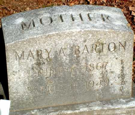 BARTON, MARY A. - Licking County, Ohio | MARY A. BARTON - Ohio Gravestone Photos