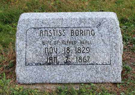 BORING BEALL, ANSTISS - Licking County, Ohio | ANSTISS BORING BEALL - Ohio Gravestone Photos