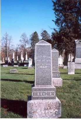 BEECHER, LYMAN - Licking County, Ohio | LYMAN BEECHER - Ohio Gravestone Photos