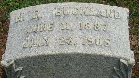 BUCKLAND, NELSON R. - Licking County, Ohio   NELSON R. BUCKLAND - Ohio Gravestone Photos