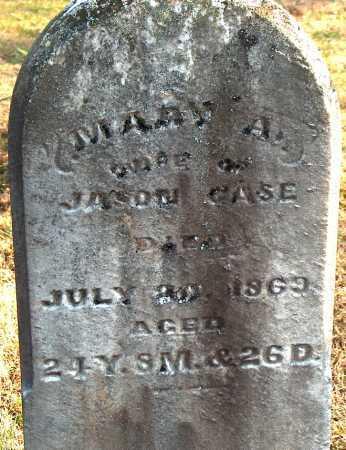 CASE, MARY A. - Licking County, Ohio | MARY A. CASE - Ohio Gravestone Photos