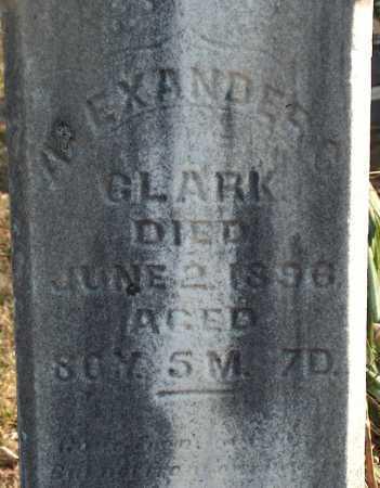 CLARK, ALEXANDER - Licking County, Ohio   ALEXANDER CLARK - Ohio Gravestone Photos