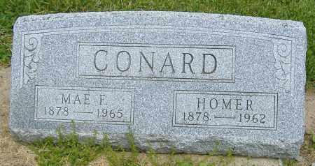 FRENCH CONARD, ELIZABETH MAE - Licking County, Ohio   ELIZABETH MAE FRENCH CONARD - Ohio Gravestone Photos