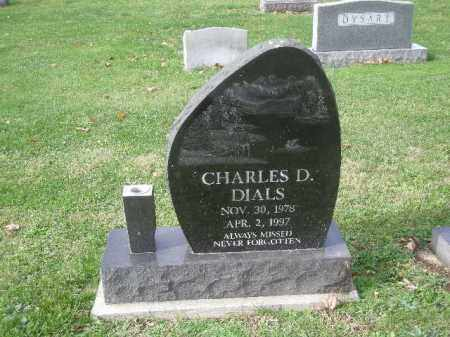 DIALS, CHARLES - Licking County, Ohio   CHARLES DIALS - Ohio Gravestone Photos