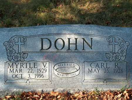 DOHN, MYRTLE V. - Licking County, Ohio | MYRTLE V. DOHN - Ohio Gravestone Photos