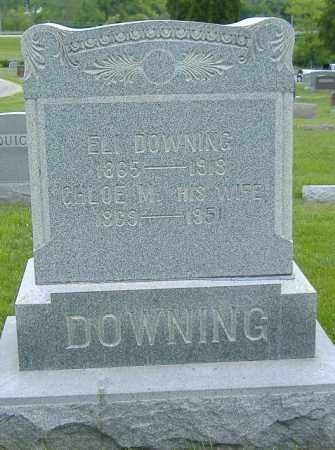 DOWNING, ELI - Licking County, Ohio | ELI DOWNING - Ohio Gravestone Photos