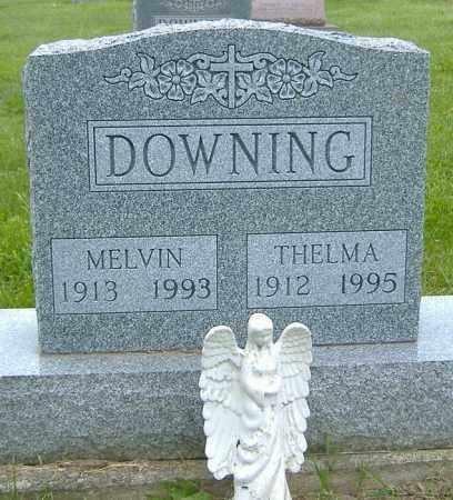 WILLIAMSON DOWNING, THELMA GLADYS - Licking County, Ohio | THELMA GLADYS WILLIAMSON DOWNING - Ohio Gravestone Photos