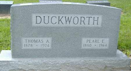 DUCKWORTH, THOMAS A. (SR) - Licking County, Ohio | THOMAS A. (SR) DUCKWORTH - Ohio Gravestone Photos