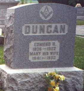 DUNCAN, MARY - Licking County, Ohio | MARY DUNCAN - Ohio Gravestone Photos