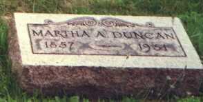 DUNCAN, MARTHA A. - Licking County, Ohio | MARTHA A. DUNCAN - Ohio Gravestone Photos