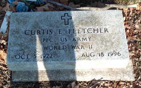 FLETCHER, CURTIS E. - Licking County, Ohio | CURTIS E. FLETCHER - Ohio Gravestone Photos