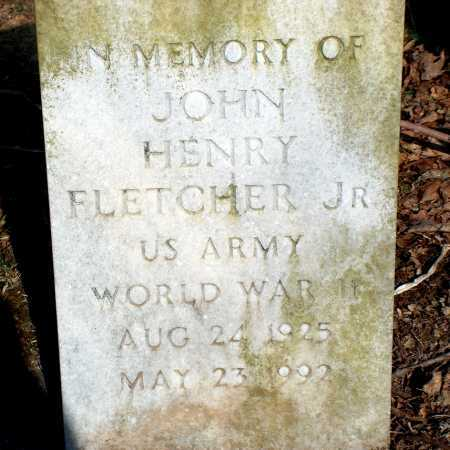 FLETCHER, JOHN HENRY JR. - Licking County, Ohio   JOHN HENRY JR. FLETCHER - Ohio Gravestone Photos