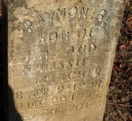 FLETCHER, RAYMON B. - Licking County, Ohio   RAYMON B. FLETCHER - Ohio Gravestone Photos