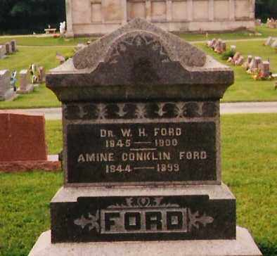 FORD, AMINE - Licking County, Ohio | AMINE FORD - Ohio Gravestone Photos