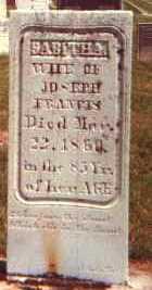 FRANCIS, SIBELLA SABITHA - Licking County, Ohio | SIBELLA SABITHA FRANCIS - Ohio Gravestone Photos