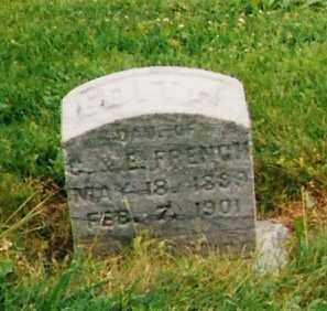 FRENCH, EDITH - Licking County, Ohio | EDITH FRENCH - Ohio Gravestone Photos