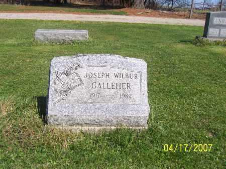GALLEHER, JOSEPH WILBUR - Licking County, Ohio   JOSEPH WILBUR GALLEHER - Ohio Gravestone Photos