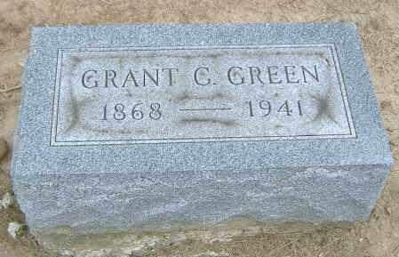 GREEN, GRANT C. - Licking County, Ohio | GRANT C. GREEN - Ohio Gravestone Photos