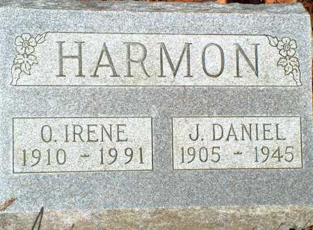 HARMON, J. DANIEL - Licking County, Ohio | J. DANIEL HARMON - Ohio Gravestone Photos