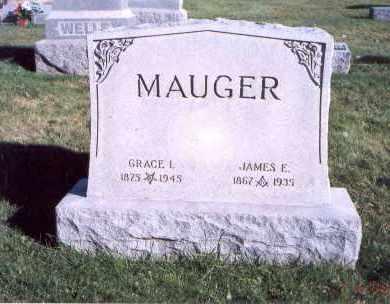 MAUGER, JAMES E. - Licking County, Ohio | JAMES E. MAUGER - Ohio Gravestone Photos