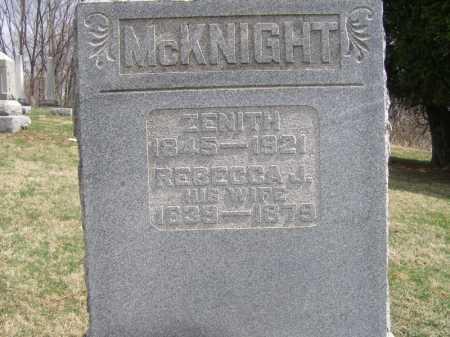 MCKNIGHT, ZENITH - Licking County, Ohio | ZENITH MCKNIGHT - Ohio Gravestone Photos