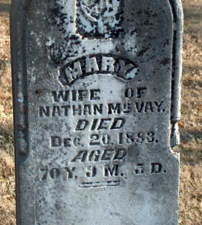 MCVAY, MARY - Licking County, Ohio | MARY MCVAY - Ohio Gravestone Photos