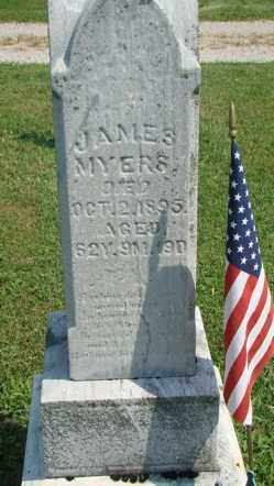 MYERS, JAMES - Licking County, Ohio | JAMES MYERS - Ohio Gravestone Photos