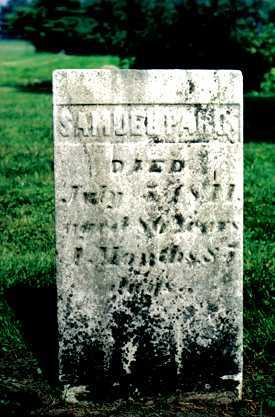 PARR, SAMUEL - Licking County, Ohio | SAMUEL PARR - Ohio Gravestone Photos