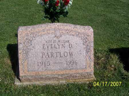 PARTLOW, EVELYN D - Licking County, Ohio | EVELYN D PARTLOW - Ohio Gravestone Photos