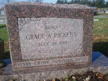 FOWLER PICKENS, GRACE - Licking County, Ohio | GRACE FOWLER PICKENS - Ohio Gravestone Photos