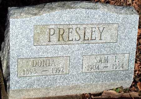 PRESLEY, DONIA - Licking County, Ohio | DONIA PRESLEY - Ohio Gravestone Photos