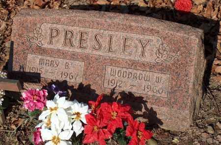 PRESLEY, WOODROW W. - Licking County, Ohio | WOODROW W. PRESLEY - Ohio Gravestone Photos