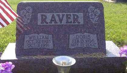 RAVER, DORIS - Licking County, Ohio | DORIS RAVER - Ohio Gravestone Photos
