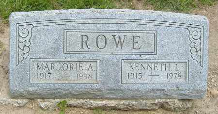 CONARD ROWE, MARJORIE ANN - Licking County, Ohio | MARJORIE ANN CONARD ROWE - Ohio Gravestone Photos