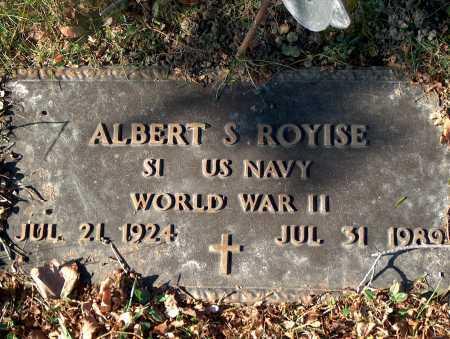 ROYISE, ALBERT S. - Licking County, Ohio | ALBERT S. ROYISE - Ohio Gravestone Photos