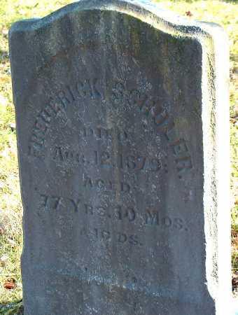 SCHOLER, FREDERICK - Licking County, Ohio   FREDERICK SCHOLER - Ohio Gravestone Photos