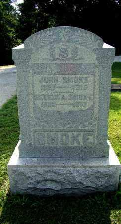 SMOKE, JOHN - Licking County, Ohio | JOHN SMOKE - Ohio Gravestone Photos