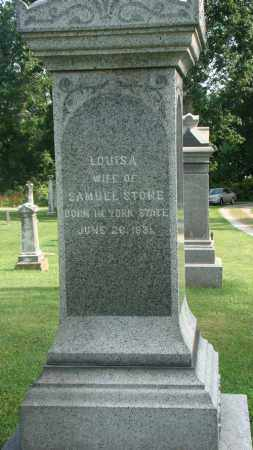 STONE, LOUISA - Licking County, Ohio | LOUISA STONE - Ohio Gravestone Photos