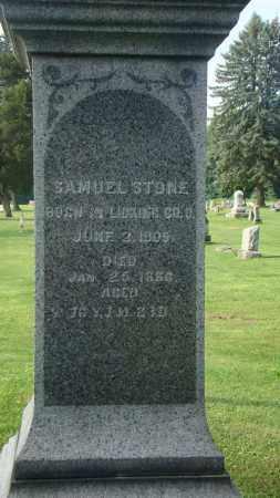 STONE, SAMUEL - Licking County, Ohio | SAMUEL STONE - Ohio Gravestone Photos