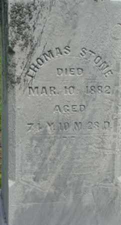 STONE, THOMAS - Licking County, Ohio   THOMAS STONE - Ohio Gravestone Photos