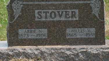 STOVER, ABBIE N. - Licking County, Ohio | ABBIE N. STOVER - Ohio Gravestone Photos