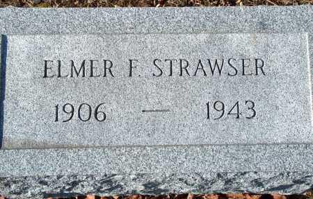 STRAWSER, ELMER R. - Licking County, Ohio   ELMER R. STRAWSER - Ohio Gravestone Photos