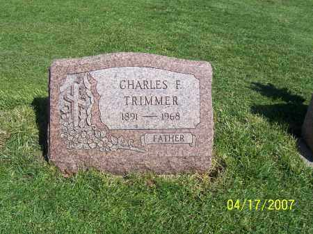 TRIMMER, CHARLES F - Licking County, Ohio   CHARLES F TRIMMER - Ohio Gravestone Photos