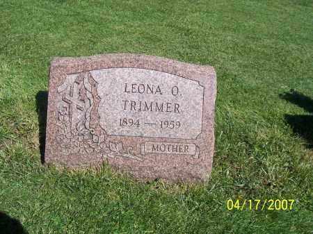 TRIMMER, LEONA O - Licking County, Ohio | LEONA O TRIMMER - Ohio Gravestone Photos