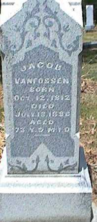 VANFOSSEN, JACOB - Licking County, Ohio | JACOB VANFOSSEN - Ohio Gravestone Photos