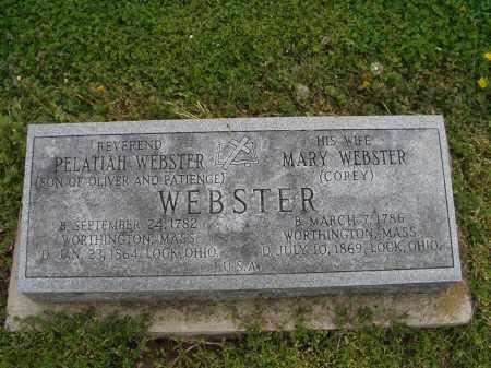 WEBSTER, PELATIAH - Licking County, Ohio | PELATIAH WEBSTER - Ohio Gravestone Photos