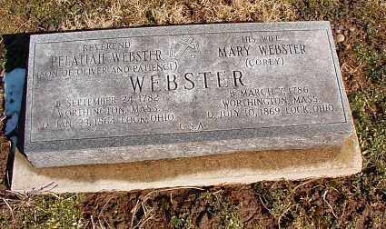 WEBSTER, PELATIAH - Licking County, Ohio | PELATIAH WEBSTER - Ohio Gravestone Photos